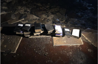 Fire proof Bibles