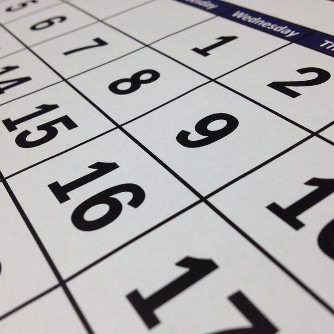 BCBC Calendar